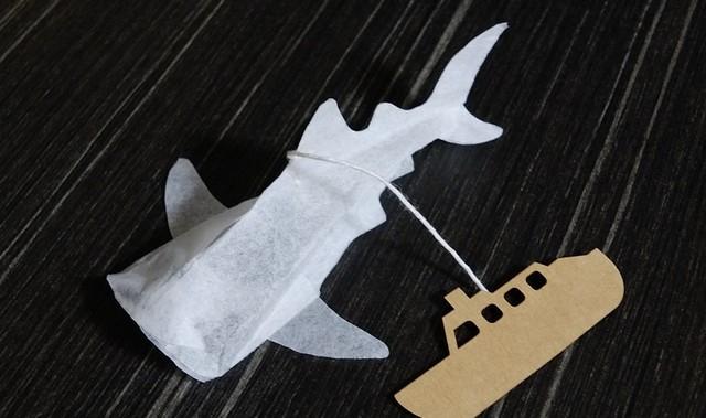 Trà túi lọc cá mập trắng